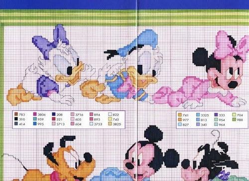 Diy Fantasia Baby Disney Punto Croce Angolo Di Giulia